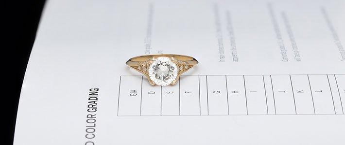 Diamond Colour Grading Chart
