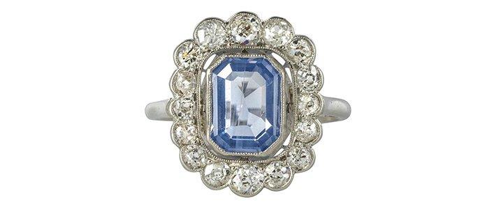 Diamond rings in the 1920s