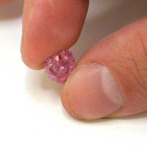 "Leibish Pink Promise as 4.96 carat rough diamond The Type IIa 36.06-carat pink stone has ""exquisite gemological characteristics""."