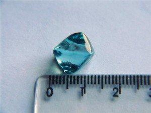 Natural Rough Blue Diamond