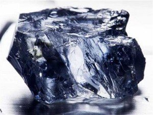 Petra Diamonds recovered this 25.5 carat blue diamond at its famous Cullinan mine.