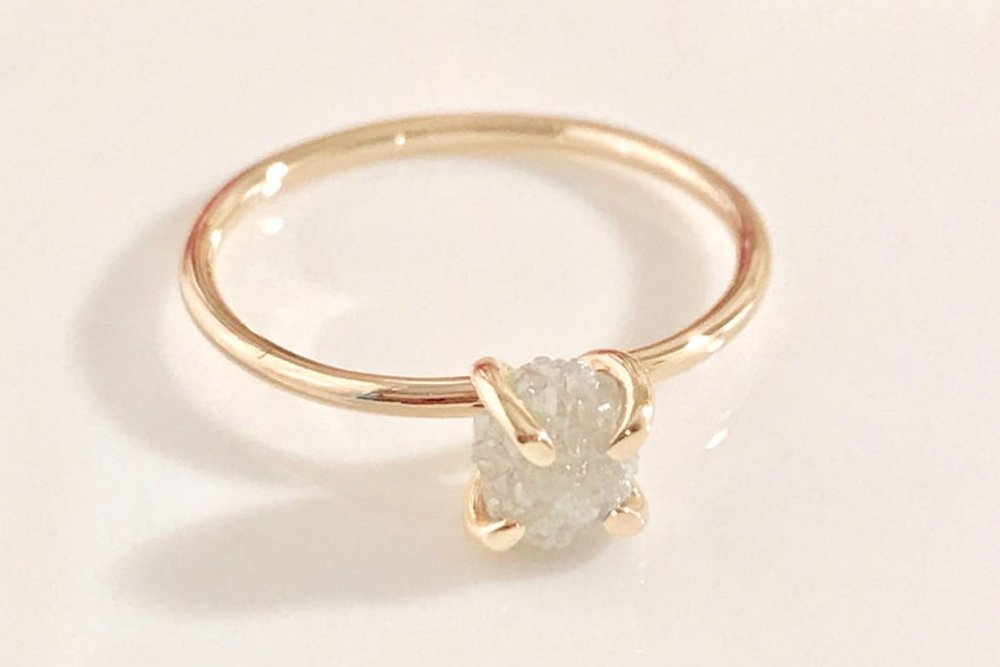 Raw-Diamond-Ring