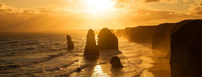 Twelve Apostles Australia at sunset - top honeymoon destination .jpg