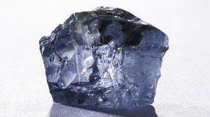 29.6-carat blue diamond discovered in the Cullinan mine, South Africa.